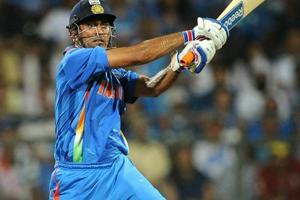 MSDhoni guided India to the ICCWorld Cup title in 2011.
