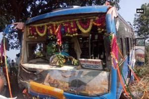 The deceased children were students of Lucky Convent School in Birsinghpur.