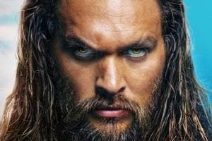 Jason Momoa stars as Aquaman.