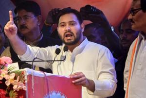 On Wednesday morning, finding the camera gone, RJD workers celebrated it as Tejashwi Yadav's triumph over Nitish Kumar.