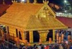 In this file photo dated Dec 24, 2014, a 'Karppoorazhi' procession is being taken out at Lord Ayyappa temple, in Sabarimala. Supreme Court on Friday, Sept 28, 2018, announced it verdict allowing entry of women of all ages at the Sabarimala temple.