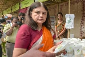 The CPI(M) is the only party to have responded to Maneka Gandhi's letter.