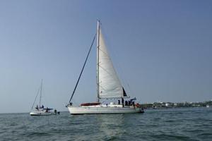 The voyage aboard 44-feet-long German-built SV Frama was kicked off from Kolkata.