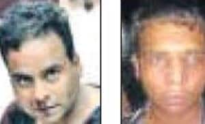 Mukesh Rao and his son Monty, contract killers from Delhi, arrested in Pune.