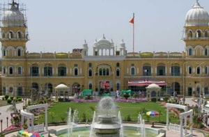 Two Indian officials were barred from entering Gurdwara Nankana Sahib (in the picture)and Gurdwara Sachcha Sauda.