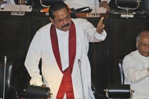 Since his surprise appointment last month, Mahinda Rajapaksa has twice lost confidence votes in parliament to lawmakers backing his predecessor Ranil Wickremesinghe, who has challenged his ouster as illegal.