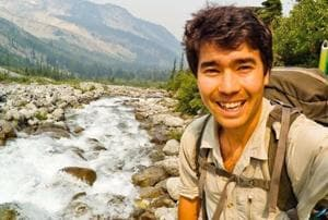 """""""God sheltered me and camouflaged me against the coast guard and the navy,"""" John Allen Chau (pictured) wrote before he was killed last week on North Sentinel Island."""
