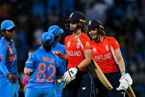 ICC Women's World T20: Dominant England thump India by 8 wickets to seal final spot