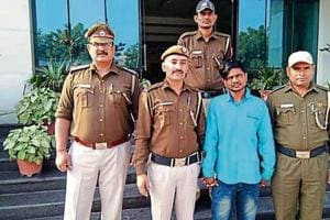 Truck driver, 32-year-old Akhilesh Pal, was arrested from Dwarka Mor late Thursday night