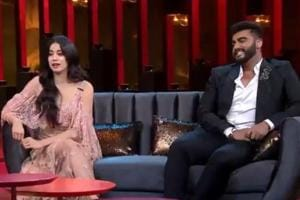 November 25 episode of Koffee With Karan will feature Janhvi Kapoor and ArjunKapoor.