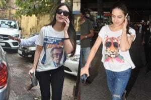 While Kareena Kapoor was spotted at the gym, Sara Ali Khan was spotted at the airport.