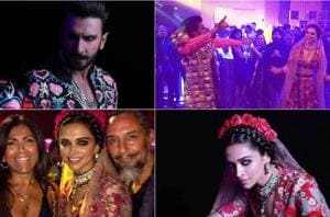 All pics ever from Deepika Padukone, Ranveer Singh's psychedelic second reception
