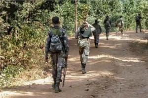 The encounter is taking place near Saklar village under Kistaram police station area.