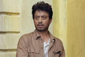 Irrfan Khan was in India for a week.