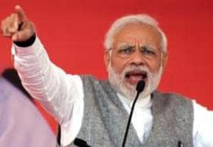 PM Narendra Modi launched a sharp attack on the Congress over the 26/11 Mumbai terror attacks.