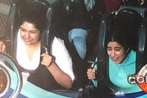 Janhvi Kapoor shared a picture with Anshula Kapoor right after Koffee With Karan episode was aired.
