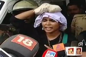 Rehana Fathima was booked by police under Section 295 A (outraging religious feeling and creating enmity between different communities) of IPC after a Sabarimala devotee complained against her social media post.