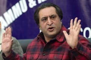 Sajjad Lone's claim comes days after Malik dissolved the state assembly that was kept suspended since June, following claims for government formation by two groups — BJP-backed Lone and PDP's Mehbooba Mufti with the support of NC and Congress on November 21.
