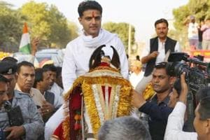 Rajasthan Congress president Sachin Pilot, who is the party's candidate from Tonk assembly seat in the December 7 election, is contesting assembly election for the first time.