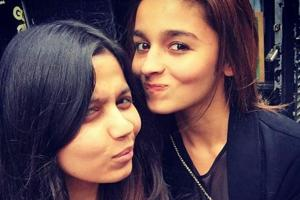 Alia Bhatt took to Instagram to wish her sister Shaheen on her birthdsay.