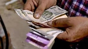 The rupee depreciated by 50 paise to 70.08 against the US dollar in early trade Monday.