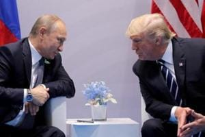 USPresident Donald Trump warned  on Tuesday that he could cancel a planned summit with his Russian counterpart Vladimir Putin due to Russia's attack on Ukrainian ships
