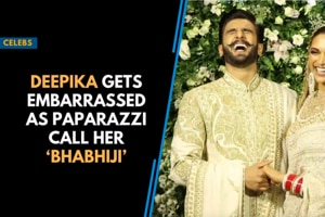 Deepika gets embarrassed as paparazzi call her 'Bhabhiji'