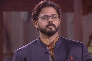 Sreesanth lost his cool again in the Bigg Boss house.