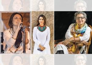 Through their creativity, these three women are trying to spread a beautiful message