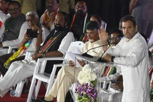 Congress president Rahul Gandhi and his ally, TDP president N Chandrababu Naidu, kept up their attack on the TRS and BJP as campaigning in Telangana shifted into high gear ahead of the December 7 assembly elections.