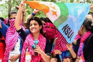 In Delhi, the campaign will be launched in 110 educational institutions, including the 93 Delhi University colleges, Jawaharlal Nehru University (JNU) and Jamia Millia Islamia among others by members of the Delhi University Students' Union (DUSU) panel in January.