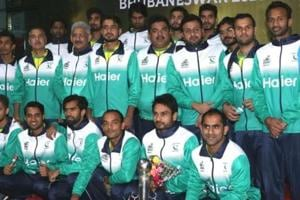 Pakistan will take on twice champions Germany in the Hockey World Cup.