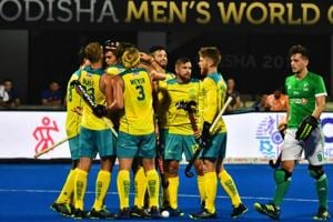 Hockey World Cup 2018: Champions Australia survive Ireland test in World Cup opener