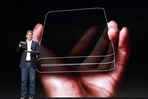 Samsung last month unveiled its first Galaxy foldable smartphone that opens up like a book
