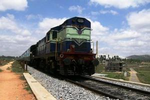 Court officials in Tamil Nadu today tried to seize a train engine over the railways' long-pending  default on land acquisition compensation (File Photo)