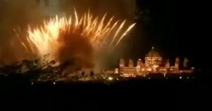 Priyanka Chopra-Nick Jonas wedding: Sky lit with fireworks