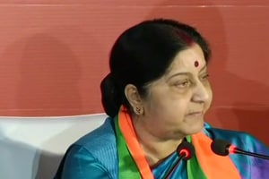Foreign minister Sushma Swaraj said that he had asked this question because he and the Congress both were confused about Rahul's religion and caste.
