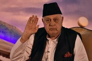Farooq Abdullah on Sunday said the day India and Pakistan become friends, Kashmir issue would be resolved automatically.