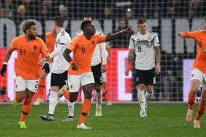 Netherlands drew one and won one game against Germany in UEFA Nations League.
