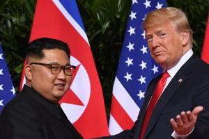 US President Donald Trump met North Korea