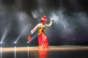PHOTOS: Korean dance performance at the 12th Delhi International Arts Festival