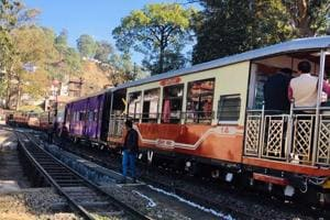 ndian Railways is in the process of revamping the heritage Kalka-Shimla toy train route with a vista dome coach that offers panoramic views, an infotainment system, a hop-on hop-off option, and a faster average speed, according to senior officials familiar with the matter.