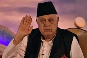 Former J&K Chief Minister Dr Farooq Abdullah.