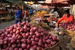 Prices of onion in some states, especially major producers of the vegetable, Maharashtra and Madhya Pradesh, have seen a fall in the past two weeks due to oversupply caused by release of old stocks farmers stored in anticipation of higher rates, reports from states show.