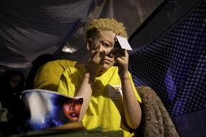 Photos: Kenyan pageant for people with albinism fights social stigma