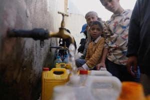 Photos: Yemen rushes to stem world's worst cholera outbreak