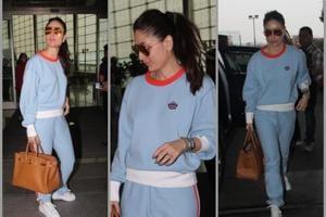 Kareena Kapoor Khan clicked at the airport, looking as chic as always