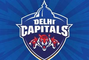 The new logo and name of the IPL Delhi franchise