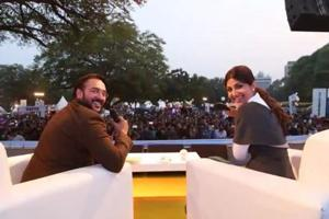 RJ Addy in conversation with Bollywood actor Shilpa Shetty during last year's Palate Fest.