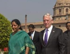 India and the US have agreed to accelerate defence and security ties as Defence Minister Nirmala Sitharaman met her American counterpart  James Mattis.